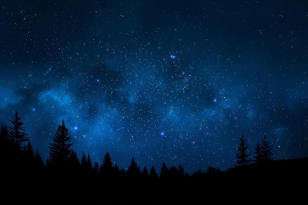 sweet night perfect moment night sky