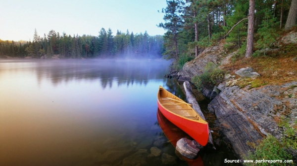 an eventful canoe ride cover