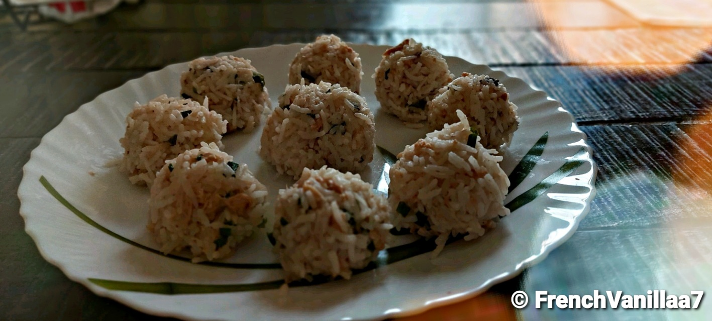 Food Therapy Rice Balls