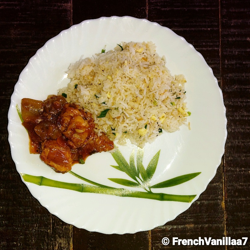 Food Therapy Fried Rice and Chicken